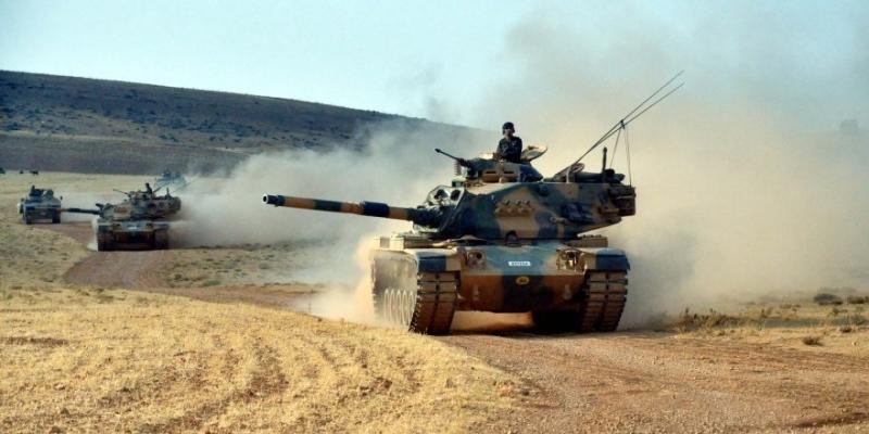 Sınırda hareketli dakikalar: Türk Tankları Çobanbey'e girdi!