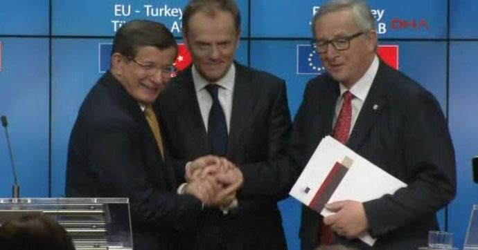 Türkiye-AB Zirvesi'nde anlaşma sağlandı