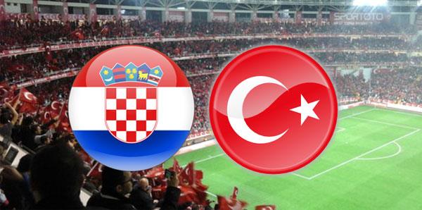 Türkiye Hırvatistan maçının ilk 11'leri belli oldu