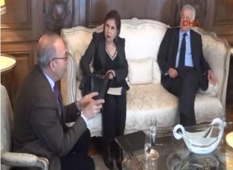 Türkiye'nin Paris Büyükelçiliği'nde 'Türkiye Toplantısı' yapıldı