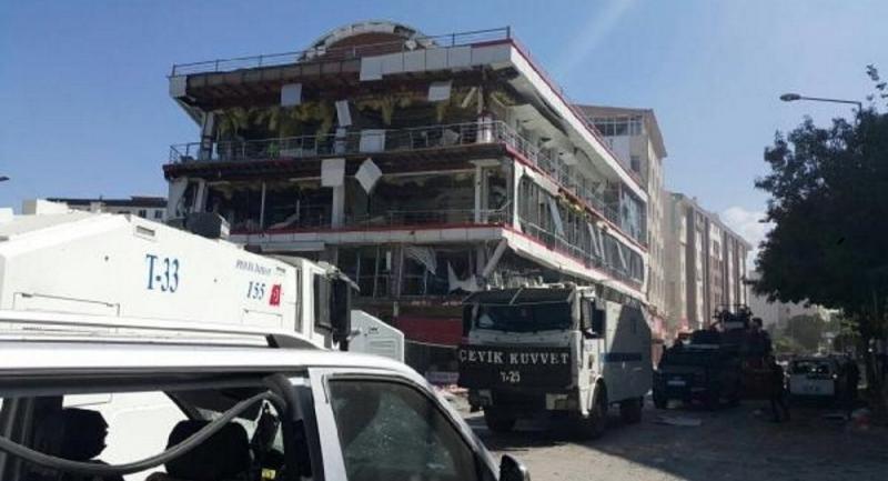 Van'daki saldırıya ilişkin yayın yasağı