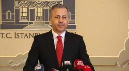 İstanbul Valisi Ali Yerlikayadan, Süleyman Soyluya baş sağlığı