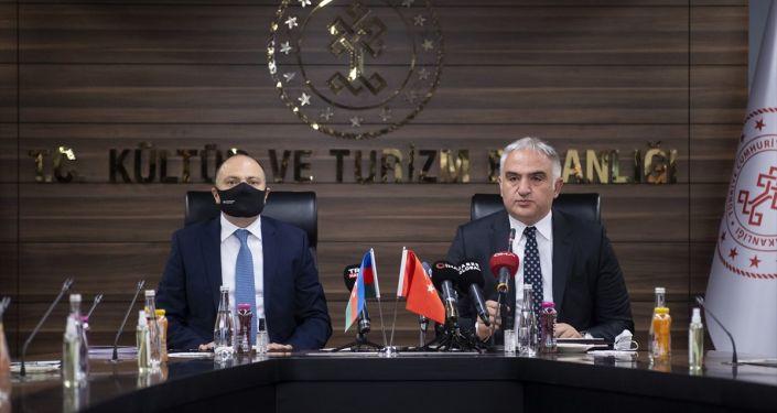 Kültür ve Turizm Bakanı Ersoy: İlk fırsatta Karabağ\'ı ziyaret edeceğiz