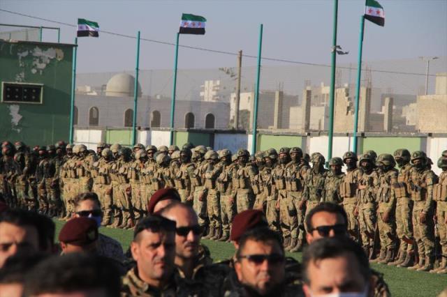 Suriye'de 5 grup birleşti, 20 bin asker artık TSK ile omuz omuza görev yapacak
