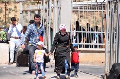 35 bin Suriyeli bayramlaşmak için yola çıktı