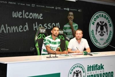 Ahmed Hassan'ı Konyaspor kadrosuna kattı