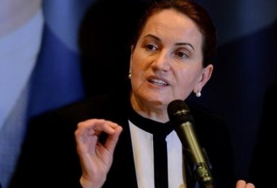 Meral Akşener'i 'Başbuğ Meral' tezahüratı kızdırdı