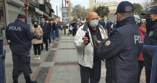 Alarm verilen Edirne'de, HES kodu olmayan çarşı ve caddelere giremeyecek