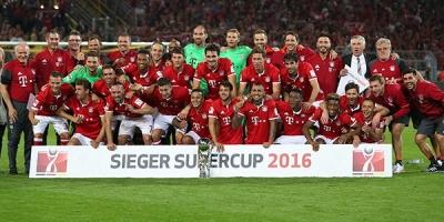 Almanya'da Süper Kupa'nın sahibi Bayern