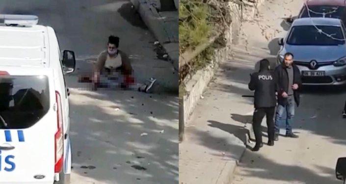 Ankara'da eski eşini sokak ortasında 12 yerinden bıçaklayarak ağır yaraladı