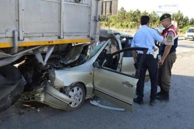 Ankara'da korkunç kaza!