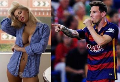 Arjantinli model: 'Messi yatakta ölü gibiydi'