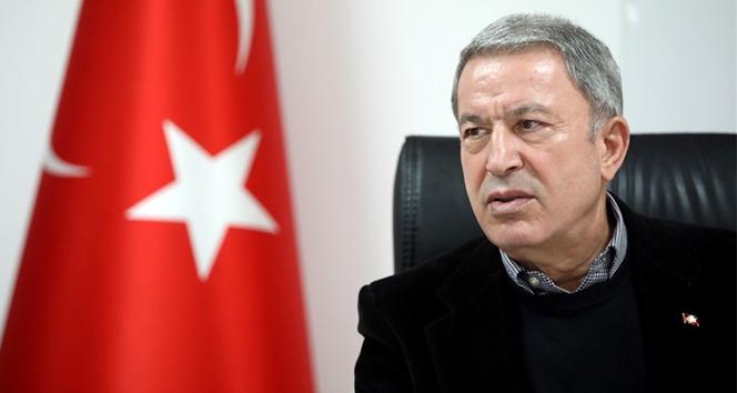 Bakan Akar: '1 Ocak'tan itibaren toplam 988 terörist etkisiz hale getirildi'