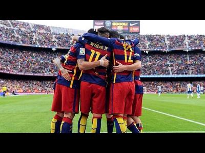 Barcelona Şampiyon