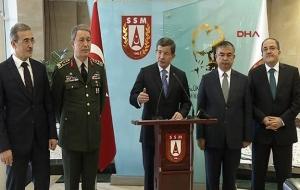 Başbakan Davutoğlu HDP'li 5 milletvekilinin dokunulmazlık fezlekesi hakkında konuştu