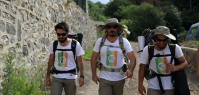 Beykoz'dan Şemdinli'ye barış yürüyüşü