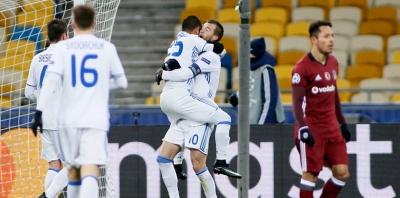 BJK Ukrayna'da buz tuttu D.Kiev 6-0 Beşiktaş