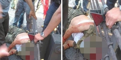 Boğaz Köprüsü'nde darbeci askerin kafasını kestiler mi?