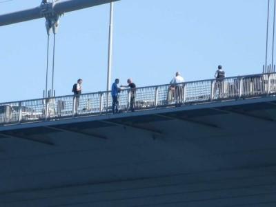 Boğaziçi Köprüsü'nde intihar paniği!
