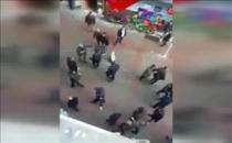 Bolu'da iki grubun siyasi görüş kavgası