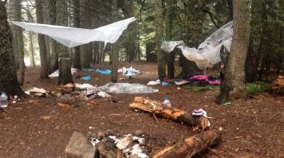 Uludağ'daki çöp görüntüleri ardından, kampçılardan açıklama geldi
