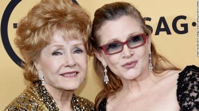 Carrie Fisher'ın annesi Debbie Reynolds hayatını kaybetti