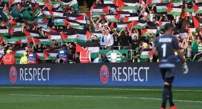 Celtic'e Filistin soruşturması