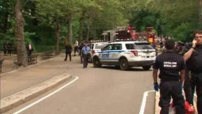 Central Park'ta patlama