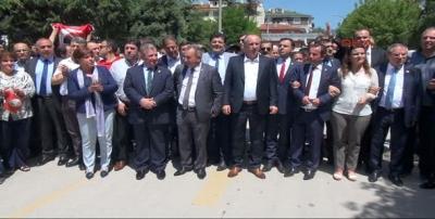 CHP'li vekiller Bolu Valiliği'ne yürüyor