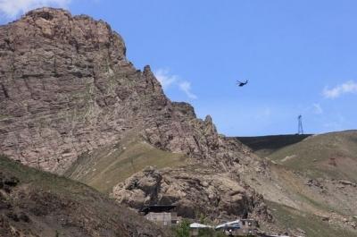Çukurca'da 5 ton bomba imha edildi