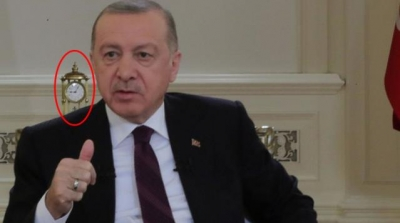 Cumhurbaşkanı Erdoğan'ın Arkasındaki Saat'in Sırrı Çözüldü