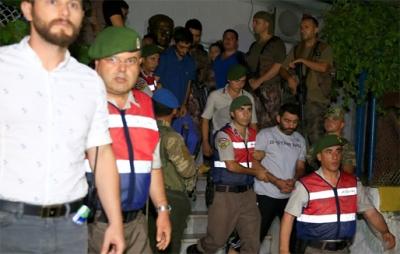 Cumhurbaşkanı Erdoğan'ın oteline saldırı düzenleyen 11 asker daha yakalandı
