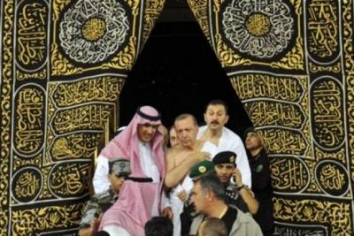Cumhurbaşkanı Erdoğan 'umre' yaptı