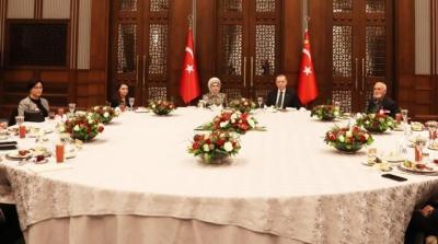 Cumhurbaşkanı Erdoğan İftar Programında Şehit Aileleri İle Bir Araya Geldi