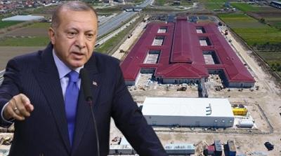 Cumhurbaşkanı Talimatı Verdi 48 Gün İçerisinde Hastane Tamamlandı