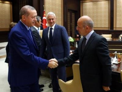 Cumhurbaşkanı, TÜSİAD Heyeti görüşmesi başladı!