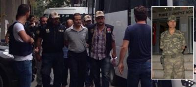 Darbeci komutana peçete veren astsubaya 20 yıl hapis