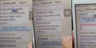 Darbecilerin Whatsapp konuşmalarını tam metni ortaya çıktı