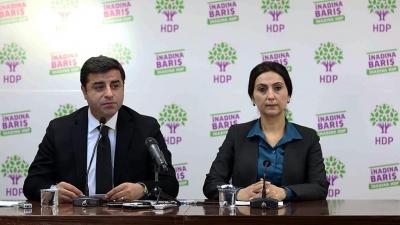 Demirtaş ve Yüksekdağ hakkında 5 ayrı iddianame
