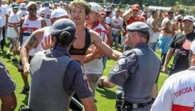 Diego Lugano, Brezilya'da günün kahramanı oldu