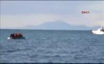 Dikili'de yurt dışına çıkmak isteyen 60 mülteci yakalandı