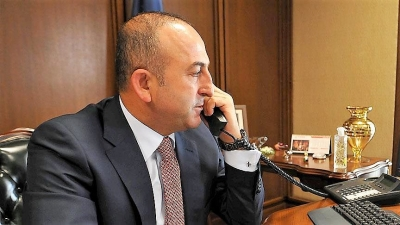 Dışişleri Bakanı Çavuşoğlu Kırgızistan Dışişleri Bakanı ile görüştü