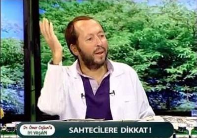 Doktor Ömer Coşkun'un ürünleriymiş gibi tanıtılıyor ama...