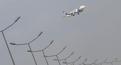 Düşen uçağın enkazında patlayıcı izi