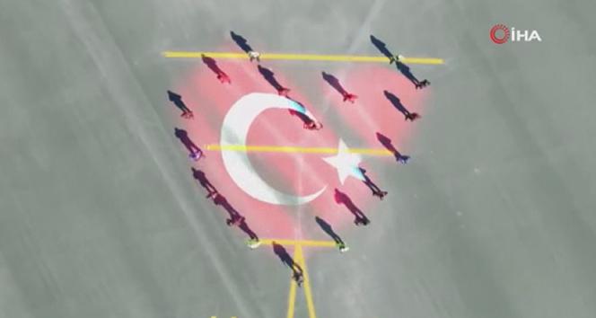 EGM'den İstiklal Marşı'nın 100. yılı paylaşımı