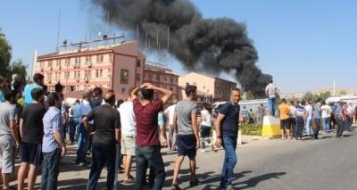 Hain saldırıyı üstlenen PKK:'yakma ve yıkma siyasetine karşı..'