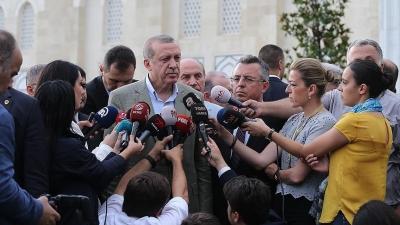Erdoğan: 'Biz bu terörün üstesinden kesinlikle geliriz'