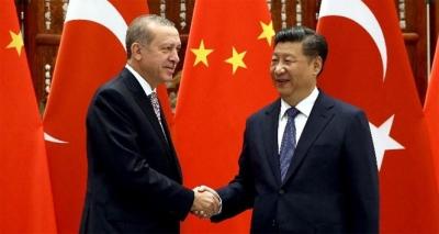 Erdoğan, Jinping ile görüştü!