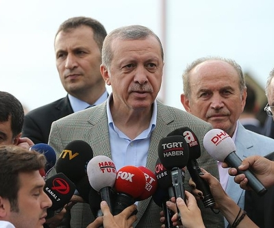 Erdoğan, Kadir Topbaş'ı ziyaret etti