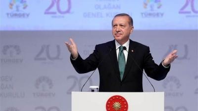 Erdoğan Türgev'in 20. kuruluş yıl dönümünde konuştu